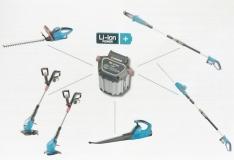 Аккумулятор литий-ионный BLi-18 (9839) - фото