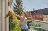 Кронштейн и держатели для горизонтального модуля для вертикального садоводства Gardena 13162-20.000.00 - фото