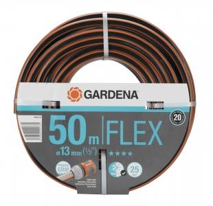 "Шланг FLEX 13 мм (1/2""), 50 м Gardena 18039-20.000.00 - фото"