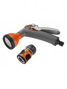 Комплект: Пистолет-распылитель для полива + Коннектор с автостопом 1/2 Gardena 18345-32.000.00 - фото