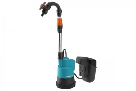 Насос для резервуаров с дождевой водой аккумуляторный 2000/2 18V P4A  без аккумулятора Gardena 14602-20.000.00 - фото