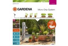 Комплект микрокапельного полива базовый с таймером Gardena 13002-20.000.00 - фото