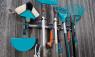 Кронштейн для садовых инструментов (система хранения комбисистемы) Gardena 03501-20.000.00 - фото