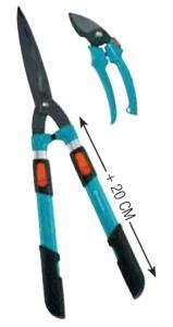 Комплект: Ножницы для живой изгороди механические телескопические Comfort 700 T + секатор Classic Gardena 00394-30.000.00 - фото