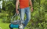 Газонокосилка барабанная механическая 400C Comfort (ширина 40см, 12-42мм, рукоятки эрго) Gardena 04022-20.000.00 - фото