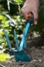 Мотыжка ручная 6.5 см с 3 зубцами (ручной садовый инструмент-насадка для комбисистемы) Gardena 08915-20.000.00 - фото