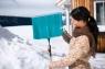 Лопата для уборки снега 50 см с кромкой из нержавеющей стали Gardena 03243-20.000.00 - фото