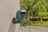 Катушка со шлангом настенная автоматическая GARDENA RollUp M (голубой цвет / 20метров) 18610-20.000.00 - фото