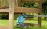 Триммер электрический ComfortCut 450/25 (450Вт, D кошения 250мм, корд 1.6мм, колесо) Gardena 09808-20.000.00 - фото