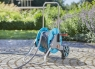 """Шланг текстильный Liano 13 мм (1/2""""), 20 м с комплектом для полива (коннектор стандартный и с автостопом, наконечник для полива Classic арт. 18300)  18435-20.000.00 - фото"""