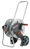 Тележка для шлангов металлическая AquaRoll M с комплектом для полива 18542-20.000.00 - фото