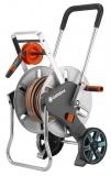 Тележка для шлангов металлическая AquaRoll M Easy с комплектом для полива  18547-20.000.00 - фото