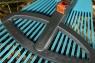 Комплект: Грабли пластиковые регулируемые (насадка для комбисистемы) + Ручка 130 см (для комбисистемы) Gardena 03099-30.000.00 - фото
