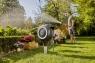 Катушка со шлангом напольная автоматическая GARDENA RollUp M (белый /20 метровцвет) 18616-20.000.00 - фото