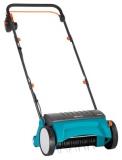 Скарификатор-аэратор газонный электрический ES 500 (500Вт, 30см, рабочие элементы - пружины) - фото