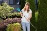 Грабли ручные 12 см  (ручной садовый инструмент / насадка для комбисистемы) Gardena 08919-20.000.00 - фото