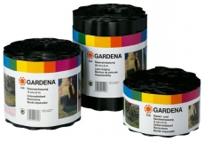 Бордюр черный 15 см, длина 9 м Gardena 00532-20.000.00 - фото