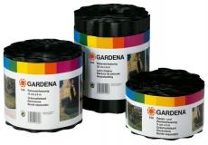 Бордюр черный 9 см, длина 9 м Gardena 00530-20.000.00 - фото
