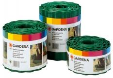 Бордюр зеленый 9 см, длина 9 м Gardena 00536-20.000.00 - фото
