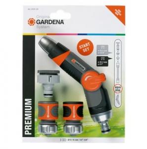"""Комплект базовый Premium 1/2"""" (8191) Gardena 08191-20.000.00 - фото"""