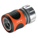 "GARDENA Коннектор с автостопом Premium 13 мм (1/2"") (8168)* - фото"