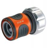 """Коннектор с автостопом Premium 19 мм (3/4"""") (8169) Gardena 08169-20.00.00 - фото"""