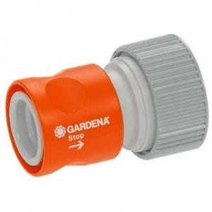 Коннектор с автостопом «Профи» Gardena 02814-20.000.00 - фото