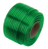 Шланг прозрачный зеленый 10х2 мм x 1 м (в бухте 50 м) - фото