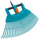 Грабли пластиковые веерные XXL складные (насадка для комбисистемы) Gardena 03107-20.000.00 - фото