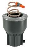 Колонка со спиральным шлангом 10 м - фото