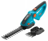 Комплект: Ножницы для газонов и кустарников аккумуляторные ComfortCut с 2 ножами (для травы - 8 см, для кустарника - 18 см) - фото