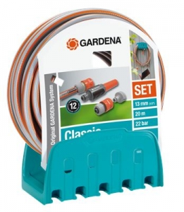 Кронштейн настенный со шлангом Classic Gardena 18005-20.000.00 - фото