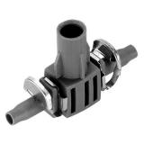 Соединитель T-образный для микронасадок 4.6 мм (5 шт. в блистере) Gardena 08332-29.000.00 - фото